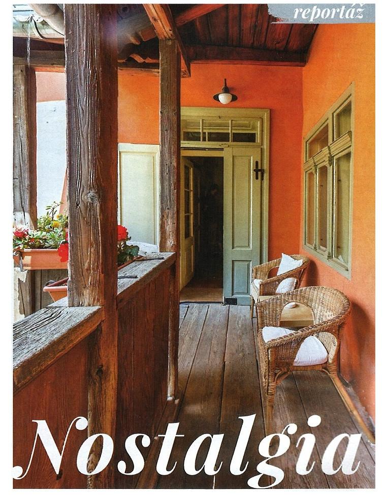 Časopis Pekné bývanie o Nostalgii strana 3